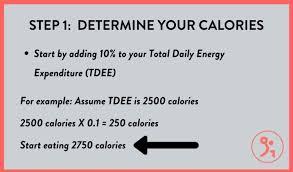calories macros be when bulking