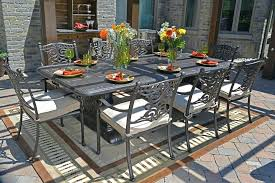 8 person outdoor dining table 8 person round patio table 8 person square outdoor dining table