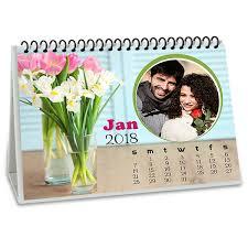 fragrance personalised desk calendar