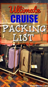 7 Day Cruise Packing List What You Should Pack For A Cruise Plus Checklist
