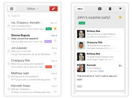 Gmail App New Design Google Launches Gmail 2 0 On Ios With New Design Support
