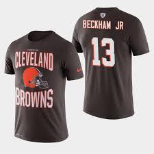Jr Logo - Team Sideline Cleveland Odell Brown Beckham Browns T-shirt Property