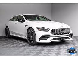 The car is called a coupe, yet has four doors like a sedan, and liftgate cargo access like a hatchback. Used Mercedes Benz Amg Gt 53 For Sale With Photos Carfax