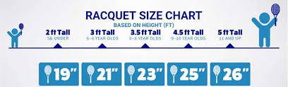 Youth Tennis Racket Size Chart The Best Junior Tennis Racquet You Can Buy In 2018 Under