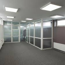 Square Office Lights Surface Mounted Light Fixture Led Square Polycarbonate Compact Evo N Lena Lighting