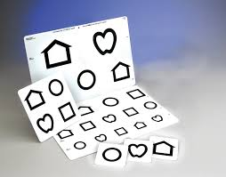 Lea Symbols Low Vision Chart Acuity Charts Bernell