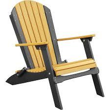 Adirondack Chair  LuxCraft Recycled Plastic Folding