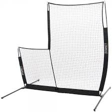 BowNet L-Screen Elite Practice Net Baseball Nets, Screens, and Backyard Batting Cages For Sale : Bow