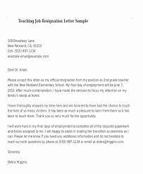Formal Letter Of Resignation Template Elegant Template Letter