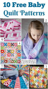 Free Baby Quilt Patterns Custom 48 Free Baby Quilt Patterns