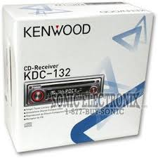 kenwood kdc 132 kdc132 in dash am fm cd player product kenwood kdc 132