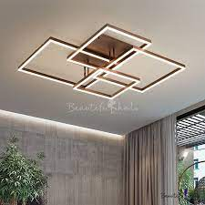metallic geometric pattern ceiling