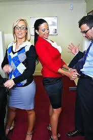 Jewels Jade And Nicole Aniston Smoking Hot Office Sluts Jewels Slut