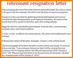how to write a letter of retirement plan on how to write a retirement letter of resignation keeping the tone pleasant and professional reason upset with retirement letter to company