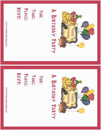 Design Your Own Party Invitations Top 9 Birthday Party
