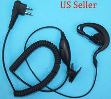motorola 1410 headset. g-shape headset/earpiece mic for motorola radio cp040,cp100,cp110,cp125,axv5100 1410 headset r