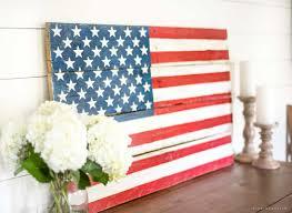 diy rustic pallet wood patriotic wall decor american flag this diy patriotic wood american flag on patriotic outdoor wall art with diy rustic pallet wood american flag tutorial create patriotic