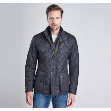 Mens Quilted Jackets From the Barbour Winter Biker collection ... & Barbour Outlet Online Barbour International Men's B.Intl Windshield  Tailored Fit Quilted Jacket Black - Adamdwight.com