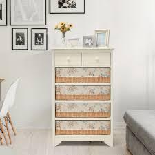 mooi furniture. Lemari MOOI RATTAN 4 DRAWERS SERIES-Rak-Drawer LIVIEN Furniture Mooi