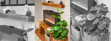 wall mounted fireplace design