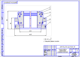 Подвеска клиновая колонной головки КГ ОККМ Чертеж   499 руб