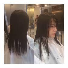 ロングからボブへのバッサリカット髪型 Acqua