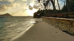 Waimanalo Beach Sunset Photograph by Petra Smith