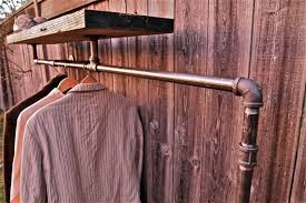 Pipe Coat Rack Industrial Rack Collection 100 75