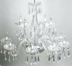 extraordinary waterford crystal chandelier cut arm chandelier waterford crystal chandelier parts