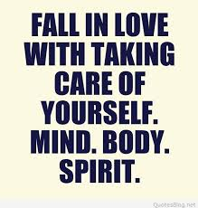 Fall In Love With Yourself Quotes Custom Taking Care Of Yourself Quote