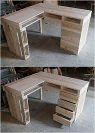 pallet office. Wood Pallet Office Table Pallet Office F