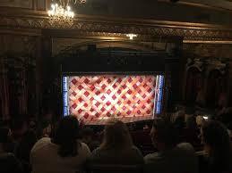 Brooks Atkinson Seating Chart Brooks Atkinson Theatre Section Rear Mezzanine Lc Row L