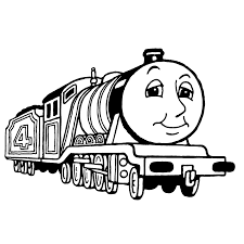 Thomas De Trein Kleurplaat Thomas Train Coloring Newwallpaperjdico
