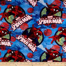 zoom marvel spiderman fleece spidey frames blue