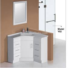 Bathroom Furniture Dark Wood White Gloss Wall Mounted Metal Country Corner Bathroom  Vanity Cabinet Glass Door Large Stained Corner Double Undermount Sinks ...