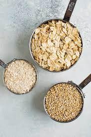 creamy steel cut oats eating bird food