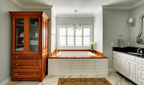modular bathroom furniture bathrooms design designer. Luxurious Bathroom Design Featuring Large Bathtub Filled With Two Piece Furniture Varnished Wooden . Modular Bathrooms Designer B