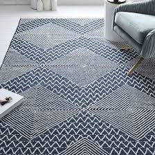 traced diamond kilim rug
