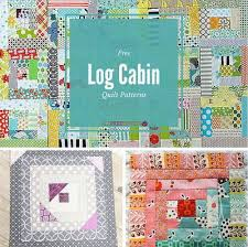 37 Free Log Cabin Quilt Patterns | FaveQuilts.com & 37 Free Log Cabin Quilt Patterns Adamdwight.com