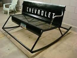 35 clever ideas for using car parts as home decor benches car