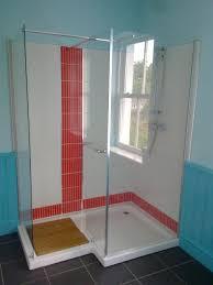 Walk In Tile Shower Tiled Walk In Showers Pictures Destroybmxcom