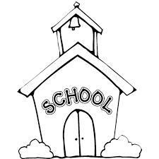 Disegno Di La Scuola Da Colorare Per Bambini Con Bimbi A Scuola