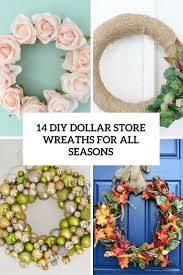 diy dollar wreaths for all seasons cover
