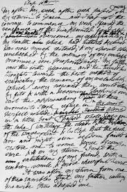 "best frankenstein by mary shelley ideas mary  marthajefferson "" cousinbarnabas "" the first page of frankenstein in mary shelley s own handwriting"