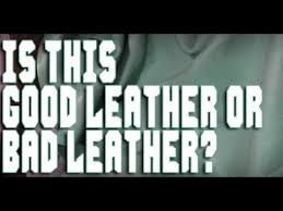 How to identify <b>Quality Leather</b> - YouTube