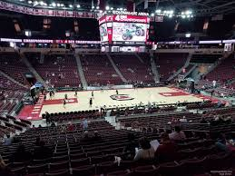 South Carolina Basketball Arena Seating Chart Colonial Life Arena Section 115 South Carolina Basketball