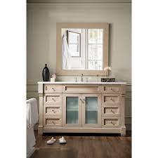 James Martin Furniture Weston 60 In Single Vanity With Glass Doors Walmart Com Walmart Com