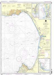 Noaa Chart 18685 Monterey Bay Monterey Harbor Moss Landing Harbor Santa Cruz Small Craft Harbor