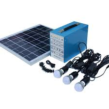 economy 30 watt off grid solar lighting kit