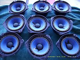 bose 901 series iv. here\u0027s the first batch of 9 drivers almost done...except for cone \ bose 901 series iv